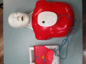 CPR and AED Trainer with Pads