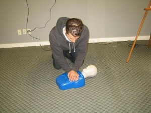 Basic CPR  - Chest Compressions