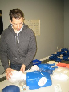 We train our students using the latest training equipment, with pediatric mannequins, AEDs, and first aid kits.
