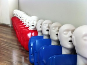 "CPR ""C"" and ""HCP"" Training Mannequins"