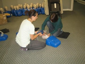 Effective two person CPR techniques