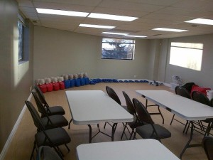 First Aid Training Room Calgary