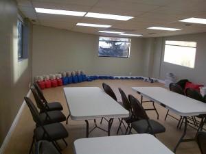 First Aid Training Room Calgary