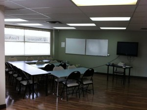 CPR Classroom in Red Deer