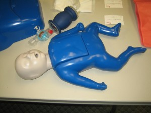 Infant CPR and AED Training Class