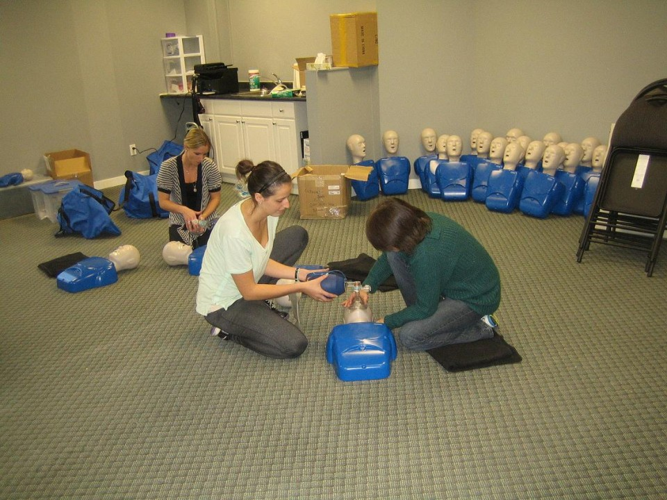 First aid, CPR and Safety Training